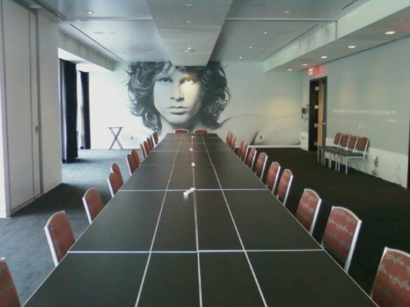 Behind closed Doors. Make your quarterly figures break on through and let the Lizard King host your next meeting at the Hard Rock Hotel!