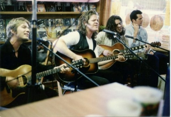 The Grays at Groovacious Platters in Keizer, Oregon, 1994