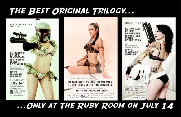comic con ruby room