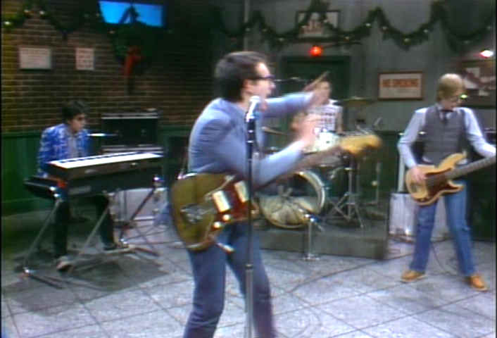 """Elvis Costello on Saturday Night Live: The most overrated """"punk"""" moment in TV history. 