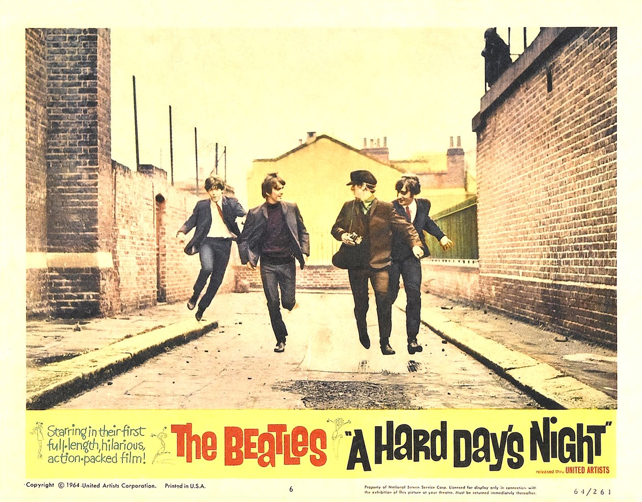 A Hard Day S Night Wasn T Shot In A Black Amp White World Quot Yer Doin Great Quot A Muzak Clickclack
