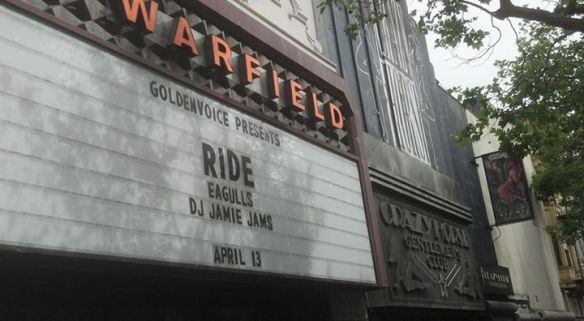 marquee ride