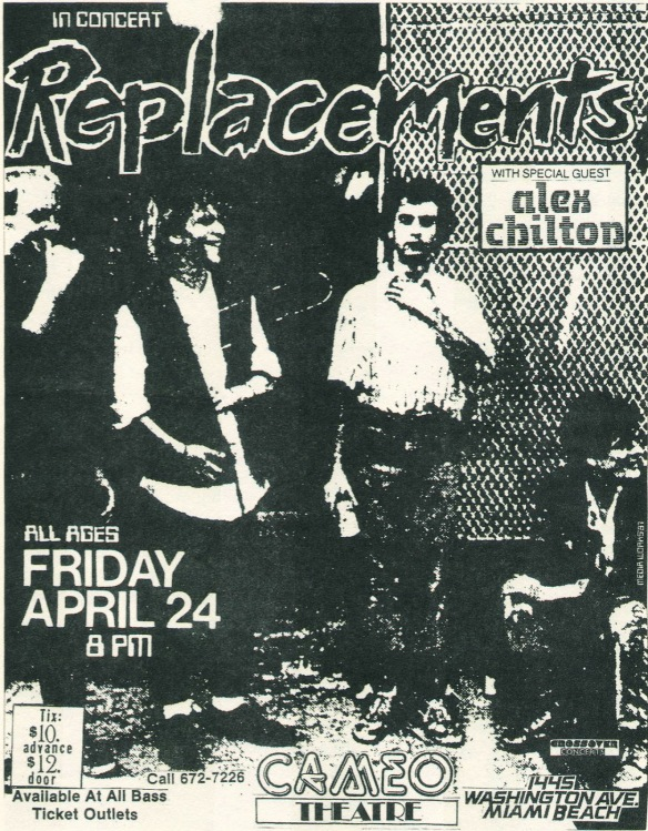 ℅ Replacements Live Archive